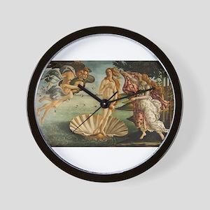 Botticelli - Birth of Venus Wall Clock