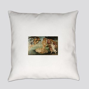 Botticelli - Birth of Venus Everyday Pillow