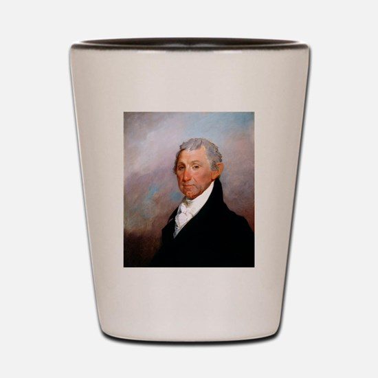 James Monroe by Gilbert Stuart Shot Glass