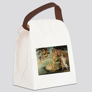 Botticelli - Birth of Venus Canvas Lunch Bag
