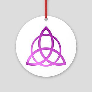 TRIQURTRA Ornament (Round)