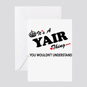 YAIR thing, you wouldn't understand Greeting Cards