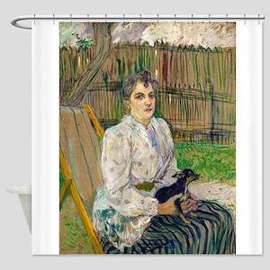Lady with a Dog by Henri de Toulouse-Lautrec Showe