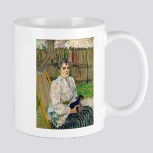 Lady with a Dog by Henri de Toulouse-Lautrec Mugs