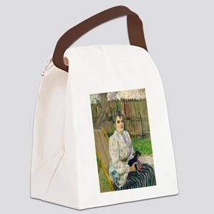 Lady with a Dog by Henri de Toulouse-Lautrec Canva