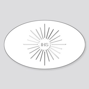 The Holy Eucharist Sticker (Oval)