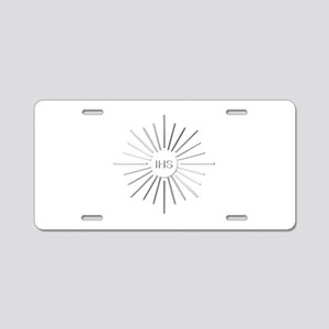 The Holy Eucharist Aluminum License Plate