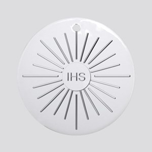 The Holy Eucharist Round Ornament