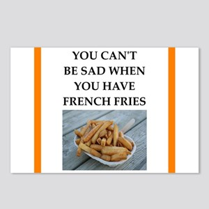 side dish joke Postcards (Package of 8)