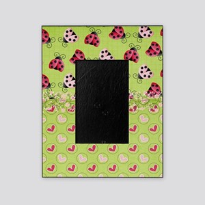 Pink and Red Ladybugs Picture Frame