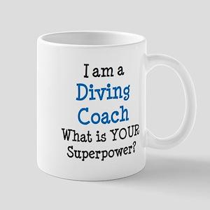 diving coach Mug