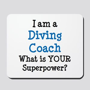 diving coach Mousepad