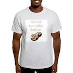 """""""We Love Our Little Peanut"""" Ash Grey T-Shirt"""