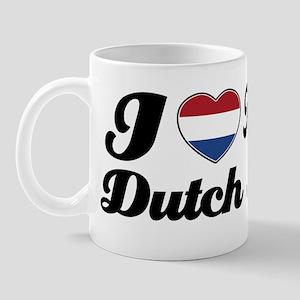 I love my Dutch wife Mug