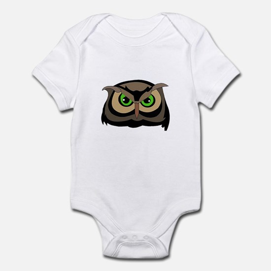 Great Horned Owl Infant Bodysuit