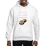 """We Love Our Little Peanut"" Hooded Sweatshirt"