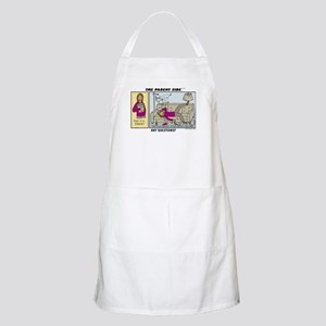 Any Questions? BBQ Apron
