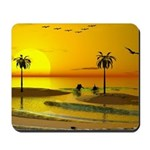Paradise Shore Sunset Mousepad