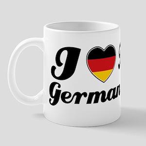I love my German wife Mug