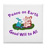 E&D Peace - Tile Coaster