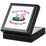 E&D Peace - Keepsake Box