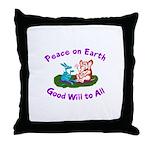 E&D Peace - Throw Pillow