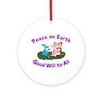 E&D Peace - Ornament (Round)
