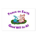 E&D Peace - Postcards (Package of 8)