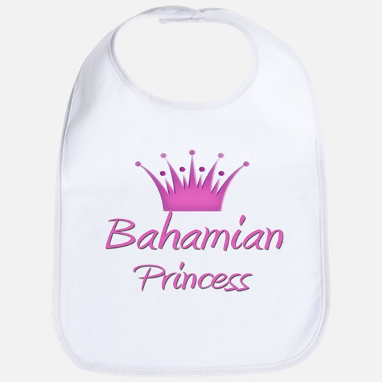 Bahamian Princess Bib