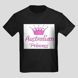 Australian Princess Kids Dark T-Shirt