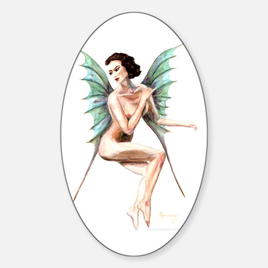 Queen Of Air Oval Decal
