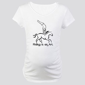 Vaulting Maternity T-Shirt