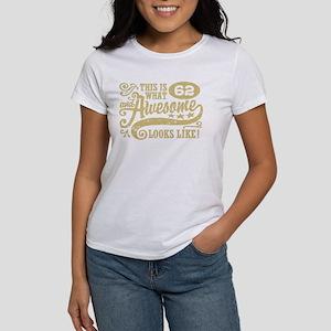 62nd Birthday Women's Dark T-Shirt