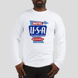 motel_usa_sign Long Sleeve T-Shirt