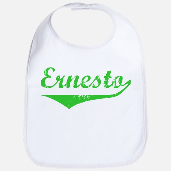 Ernesto Vintage (Green) Bib