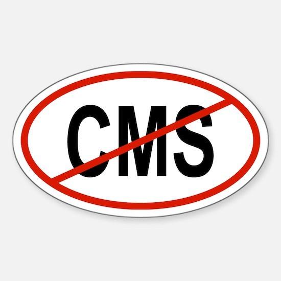 CMS Oval Decal