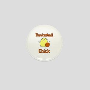 Basketball Chick Mini Button
