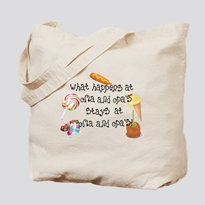 What Happens at Oma and Opa's... Tote Bag