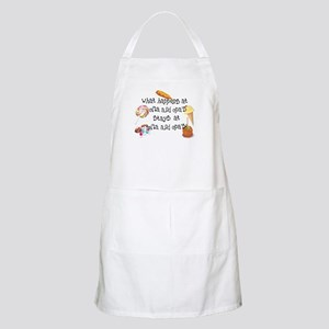 What Happens at Oma and Opa's... BBQ Apron