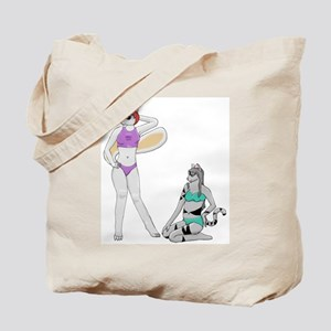 Sexy Sisters Tote Bag