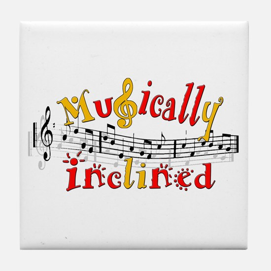 Musically Inclined Tile Coaster