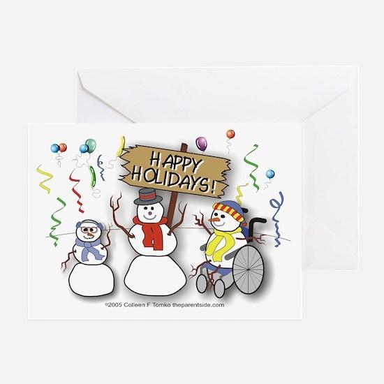 Happy Holidays Diversity Greeting Card