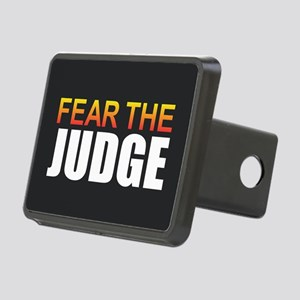 Fear the Judge Rectangular Hitch Cover