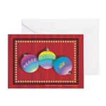 Peace, Inclusion & Joy Greeting Card
