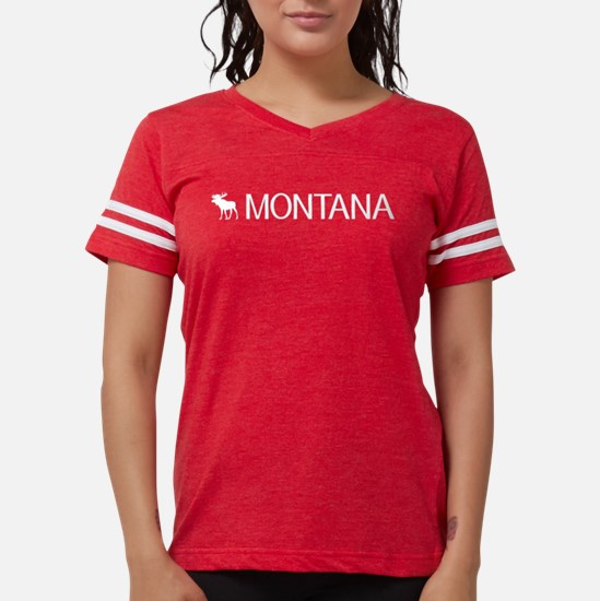 Montana: Moose (White) T-Shirt