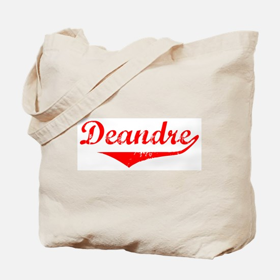 Deandre Vintage (Red) Tote Bag