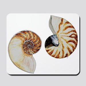 Chambered Nautilus Mousepad