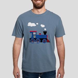 train age 2 blue black T-Shirt