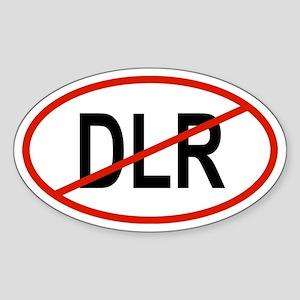 DLR Oval Sticker