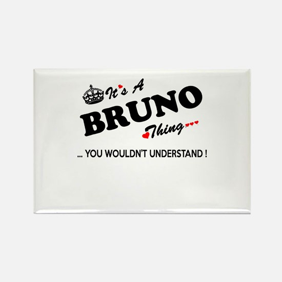 BRUNO thing, you wouldn't understand Magnets